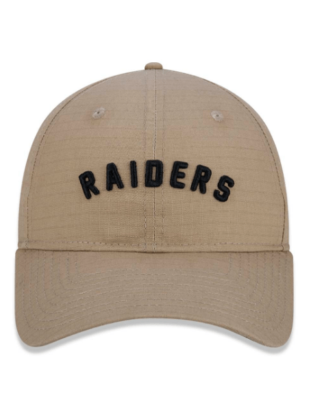 BONÉ NEW ERA RAIDERS BEGE