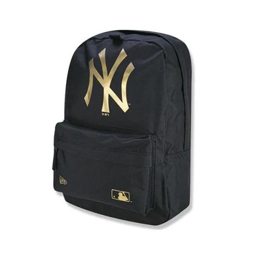 Mochila New Era New York Yankees Stadium Pack Mlb Preto - dourado