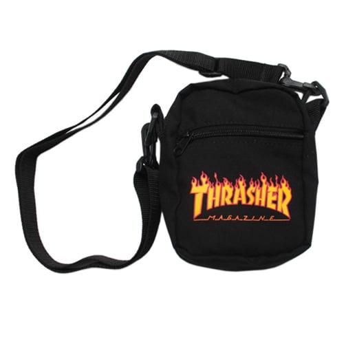 THRASHER SHOULDER BAG THRASHER MAGAZINE CLASSIC FLAME