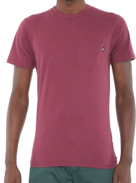 Camiseta Vans Spec NO. Bordo