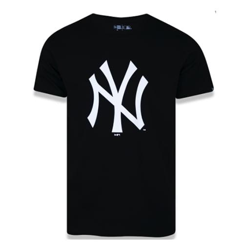 Camiseta New Era New York Yankees Essentials - Preto