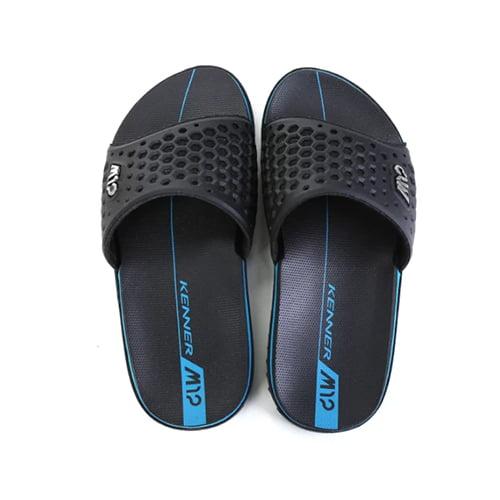 Chinelo Kenner M12 Slide Masculino - Preto e Azul