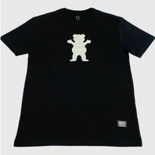 Camiseta Grizzly Refletiva Preta