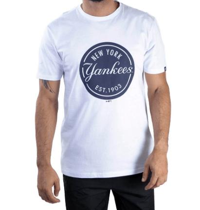 camiseta new era yankees branco