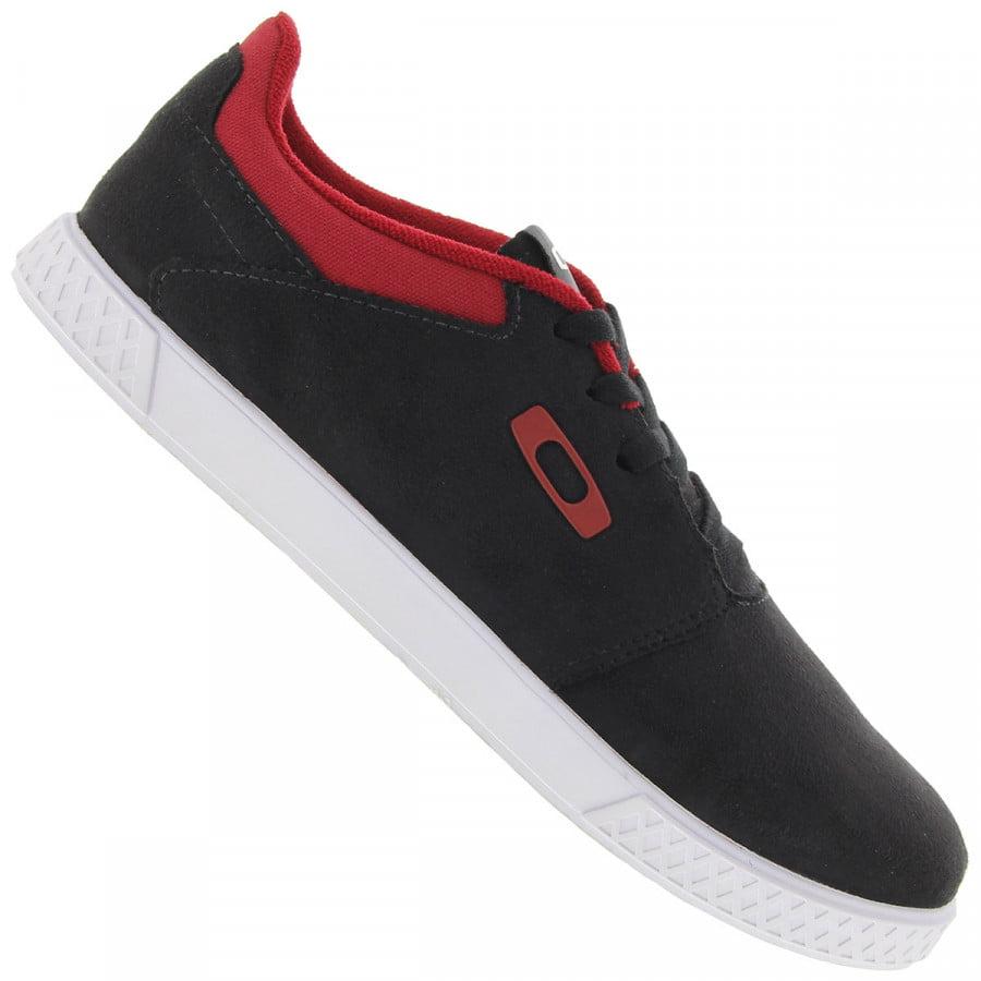 Tênis oakley flow black / red