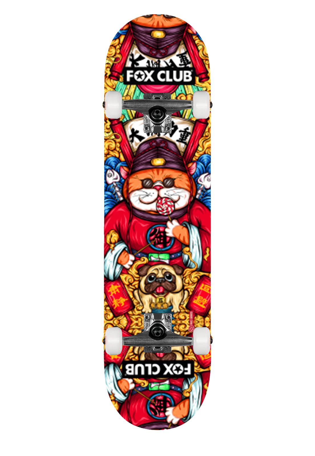 Skate Fox Club Pró -  Japonese  Culture