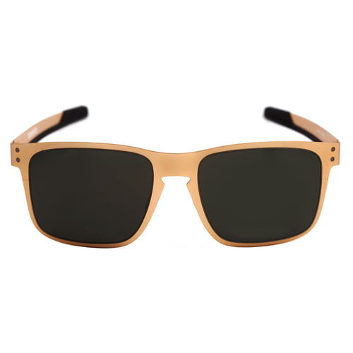Óculos holbrook metal satin gold / dark grey 004123-08