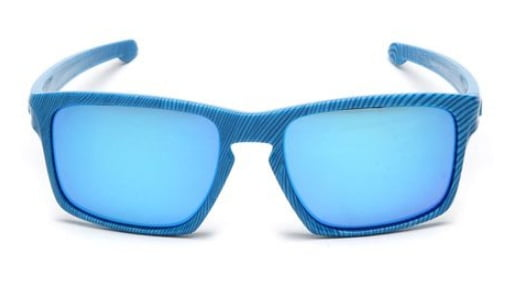 Óculos Oakley sliver sky blue / sapphire iridium - 009262-17