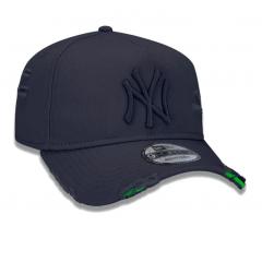 BONÉ 9FORTY A-FRAME DESTROYED MLB NEW YORK YANKEES CINZA