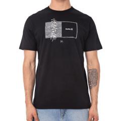 Camiseta Hurley Sig Zane Preta