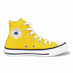 Tênis Converse All Star Chuck Taylor High - Amarelo Vivo