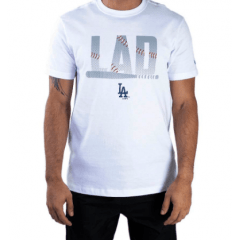 CAMISETA NEW ERA DODGERS BRANCO
