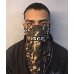 BANDANA FOX CLUB CAMUFLADA